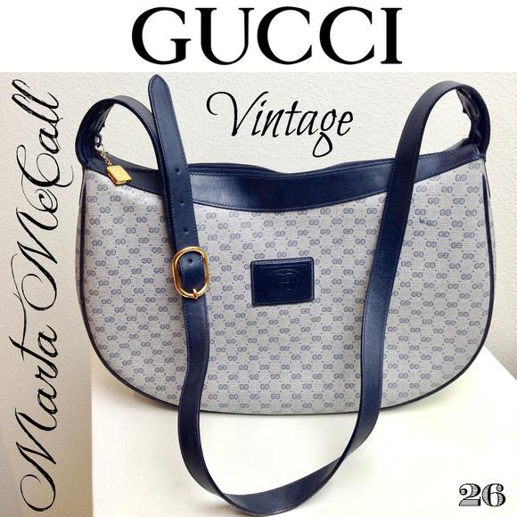 4149b49eb5 Gucci Bags | Rare Vintage Gg Plus Hobo Cross Body Handbag | Poshmark